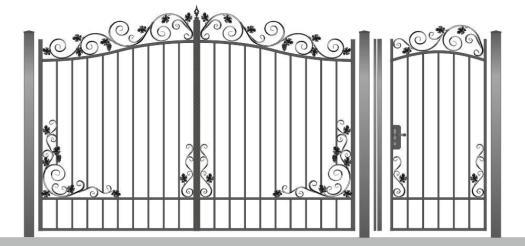 кованые ворота старый оскол