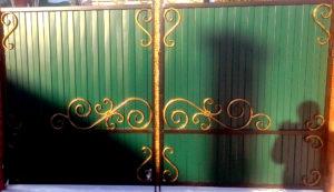 ворота кованые купить лиски