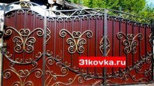 ковка ворота белгород купить