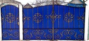 ворота кованые цена купить старый оскол