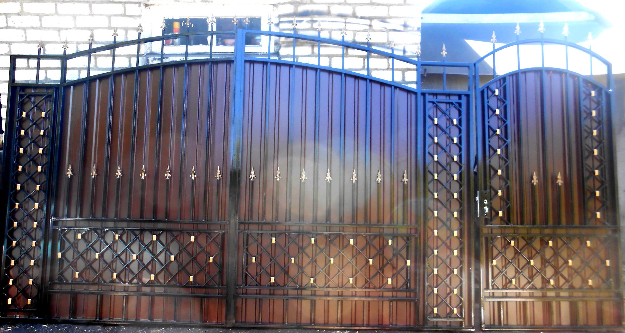 кованые ворота липецк