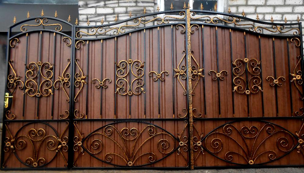 кованые ворота острогорск цена