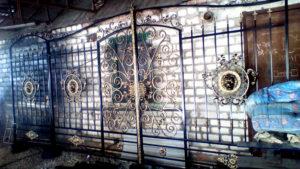 ворота калитка ковка кованые